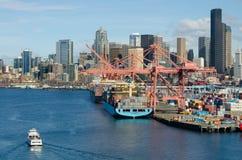 Hafen Seattle Stockbilder