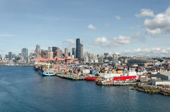 Hafen Seattle Lizenzfreie Stockfotografie