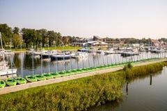 Hafen-Segeln Stockbilder