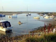 Hafen, Shell Island, Wales Stockbild