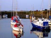 Hafen, Shell Island, Wales Stockfoto