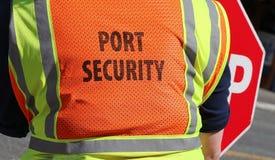 Hafen-Sicherheit stockbild
