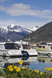 Hafen am Sognefjord Royalty Free Stock Image