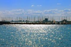 Hafen Str.-Kilda, Melbourne, Australien Lizenzfreie Stockfotos