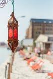 Hafen-Strand Stockfotos