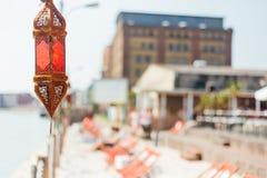 Hafen-Strand Stockbilder