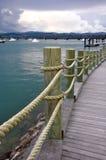 Hafen in Tauranga Stockbilder