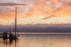 Hafen Townsend Bay Washington lizenzfreie stockbilder