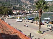 Hafen und Boote der Türkei Turunc Lizenzfreies Stockfoto