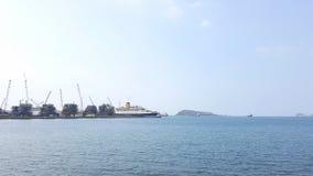 Hafen und Dock lizenzfreies stockfoto