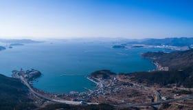 Hafen und Meer Lizenzfreie Stockfotografie