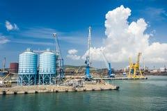 Hafen und Werfte Lizenzfreie Stockbilder