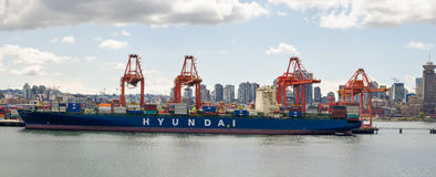 Hafen in Vancouver Lizenzfreie Stockbilder
