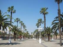 Hafen Vell in Barcelona, Spanien Lizenzfreies Stockbild