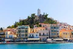 Hafen von Aegina-Insel - Griechenland Lizenzfreie Stockfotografie
