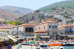 Hafen von Aegina-Insel - Griechenland Stockfoto