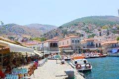 Hafen von Aegina-Insel - Griechenland Lizenzfreies Stockbild