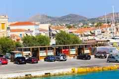 Hafen von Aegina-Insel - Griechenland Lizenzfreies Stockfoto