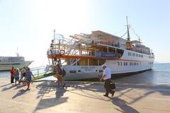 Hafen von Aegina-Insel - Griechenland Stockfotografie