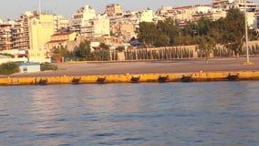 Hafen von Aegina-Insel - Griechenland stock video