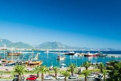 Hafen von Alanya Lizenzfreies Stockfoto