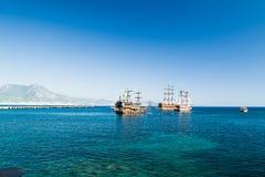 Hafen von Alanya Lizenzfreie Stockbilder