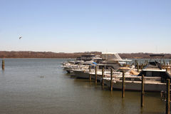 Hafen von Alexandria Lizenzfreie Stockfotos