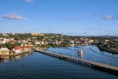 Hafen von Antigua lizenzfreies stockfoto