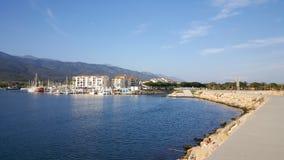 Hafen von Argelès-sur Mer Lizenzfreie Stockfotos