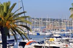 Hafen von Bandol in Frankreich Stockbild