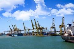 Hafen von Barcelona Spanien Lizenzfreie Stockfotos