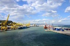 Hafen von Barcelona Spanien Lizenzfreies Stockbild