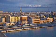 Hafen von Bari Lizenzfreie Stockfotografie