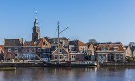 Hafen von Blokzijl Stockfotos