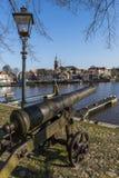 Hafen von Blokzijl mit Canon Lizenzfreie Stockfotografie