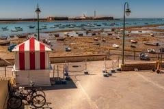 Hafen von Cadiz Lizenzfreies Stockbild