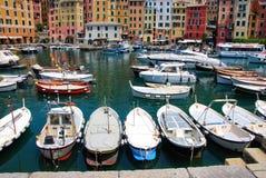 Hafen von Camogli Lizenzfreie Stockbilder