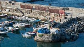 Hafen von Camogli Lizenzfreie Stockfotografie