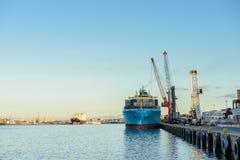 Hafen von Cape Town, Südafrika Lizenzfreies Stockfoto