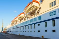 Hafen von Cape Town, Südafrika Lizenzfreie Stockfotos