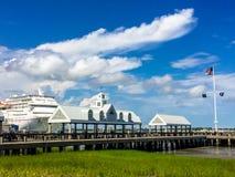 Hafen von Charleston, Sc Lizenzfreie Stockfotos