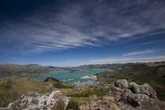 Hafen von Christchurch Stockbilder