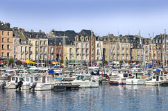 Hafen von Dieppe in Frankreich Lizenzfreies Stockbild
