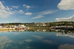 Hafen von Dublin Howth Stockfotos