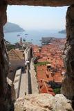 Hafen von Dubrovnik Stockfotos