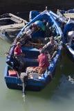 Hafen von Essaouira in Marokko lizenzfreie stockbilder
