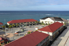 Hafen von Falmouth, Jamaika Stockbilder