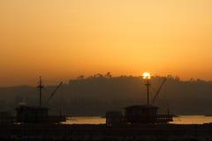 Hafen von fano Lizenzfreie Stockfotografie
