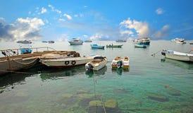 Hafen von Fischerbooten Hurghada Lizenzfreies Stockbild
