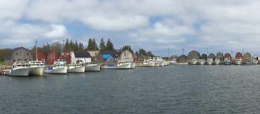 Hafen von Fischern Stockfotos